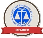 Criminal Defense Lawyers Member Badge